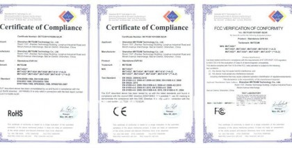 Certificates Marked