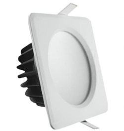IP65 waterproof 7W led downlights ISO9001