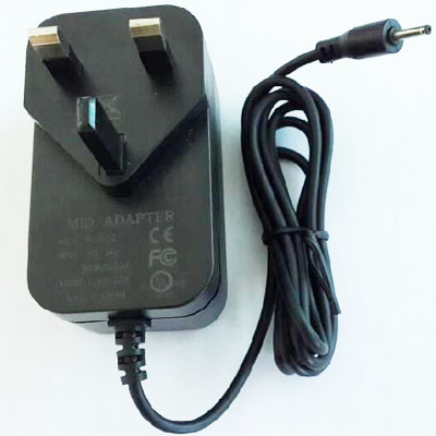Power supply adapters UK 12V 1.5A Power Adapter For Tablet 15W Charger Center Positive