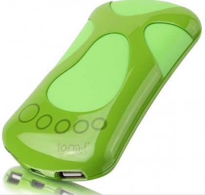 Foot shape power banks 6800mah power battery charger CE FCC RoHs marked