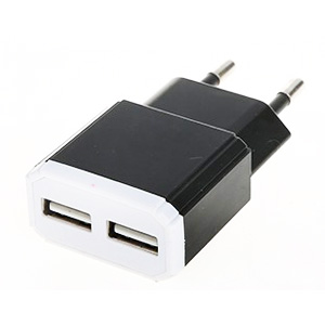 5V 2.1A dual usb charger EU plug good quality usb charger