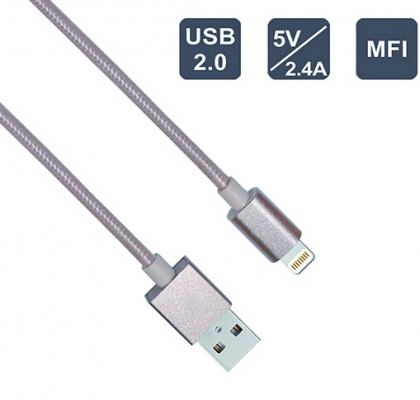 1m/2m/3m MFI for apple cable, 8Pin USB Data Sync Charging Cable For iPhone 5 5S 6 6S
