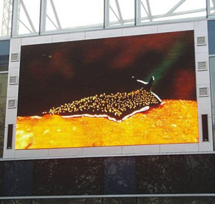 Full Color led display screen outdoor P10 Pixel Pitch 10mm Pixel Configuration 1R1G1B IC MBI5124