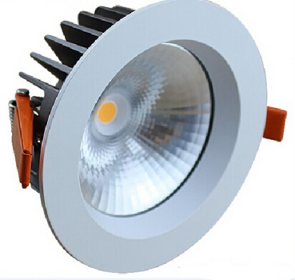 8inch LED COB downlight 30W for hotel with 3 years warranty