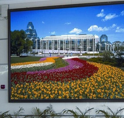 Indoor P8 full color LED display MBI5050 IC PH7.62 Pixel Pitch 7.62mm LED Shape