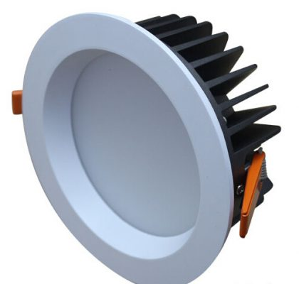 8 inch recessed 30W power led cob down light 200mm-210mm Cut hole 4000K 5 years warranty