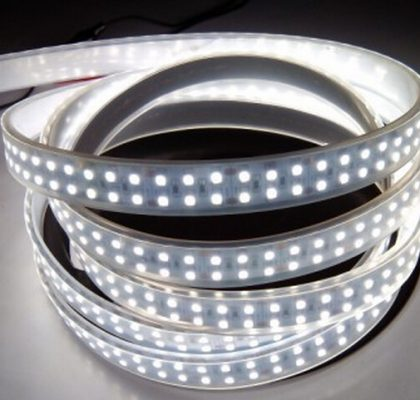Anenerge high power led strip 240led/m 3528smd UL Led strip light 24v double row led strip waterproof