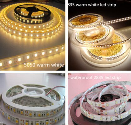 Decorative colorful Anenerge 3528SMD IP65 Waterproof RGB flexible LED strip UL CE Rohs