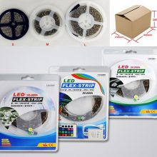 led strips packaging