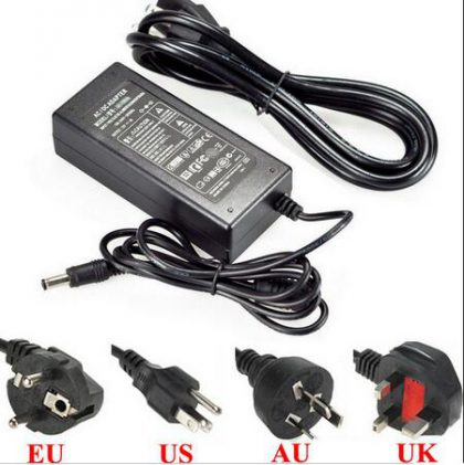 AC DC power adapter supply 12Volt 2A 2.5A 3A 5A 8A desktop power supply for CCTV LED strips with UL CE